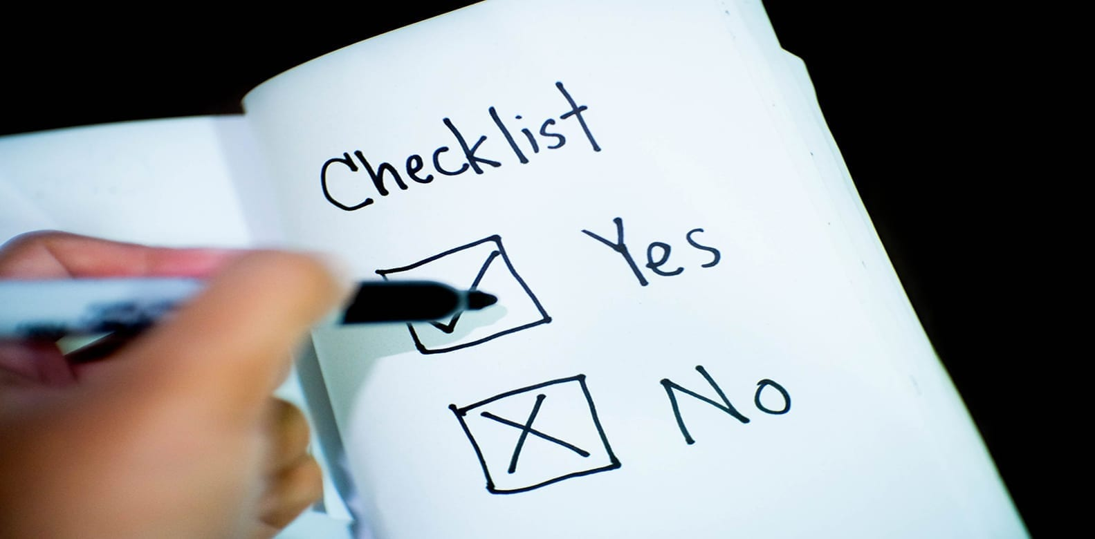 checklist article image