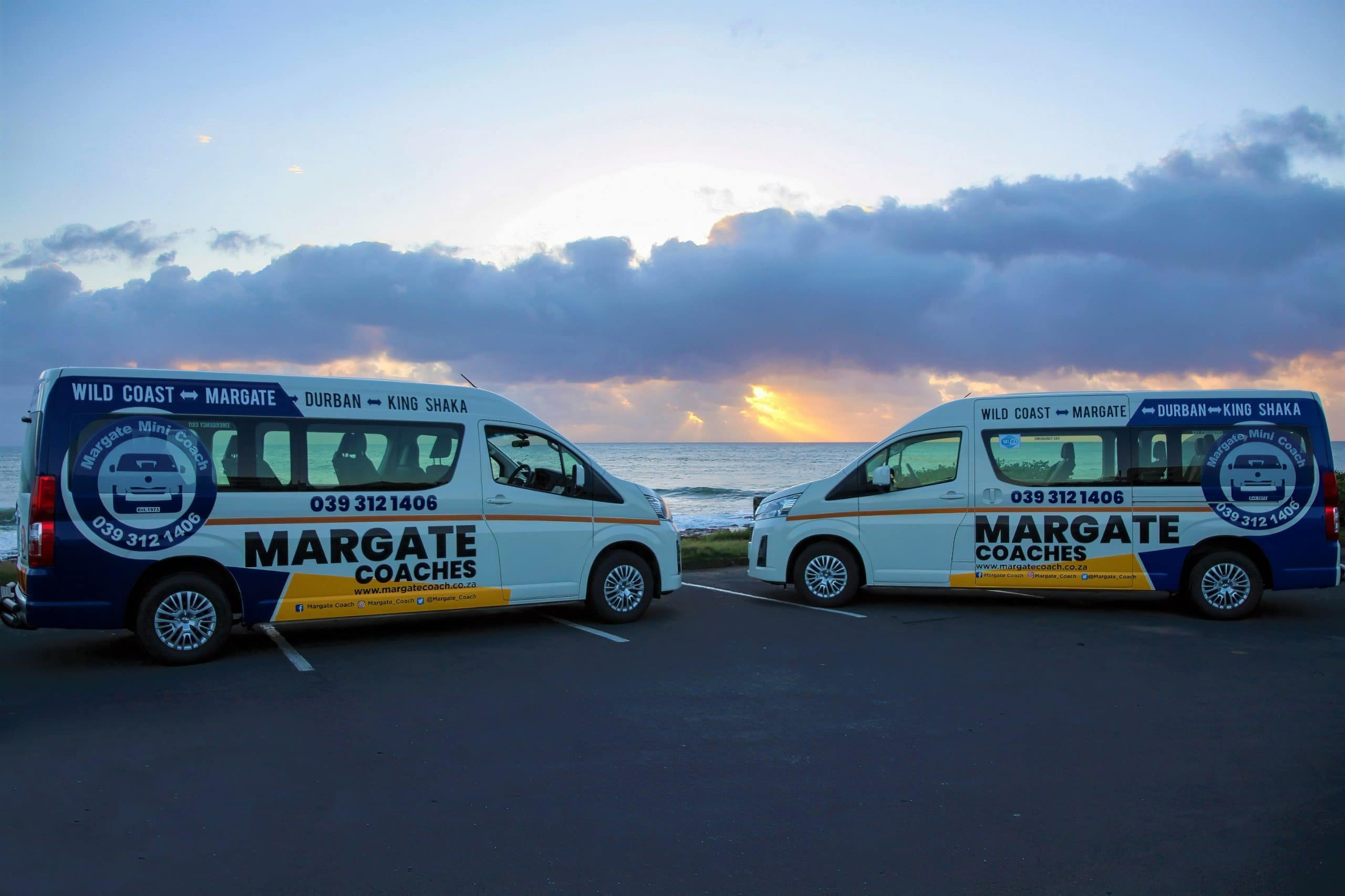 Passenger service from the south coast to durban and return